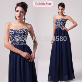 Stock Floor-Length Sleeveless Chiffon Celebrity dresses Women Evening Party dress Autumn Long Prom Gown Banquet CL6050