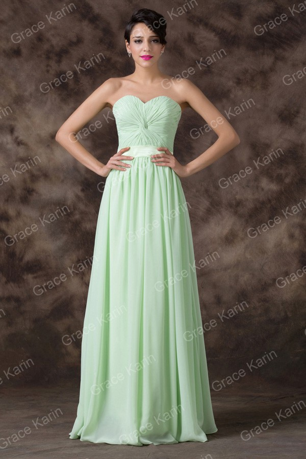 Real Imagine Off The Shoulder Green Color Chiffon Bridesmaid Dresses Cheap Party Dress Long Gown