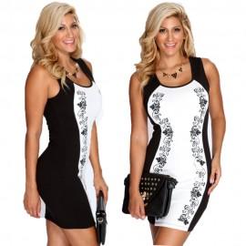 2014 Sale Vestido De Festa Vestidos Party Dresses Sexy Casual Club Bodycon Bandage Package Hip Flower Printed Print Dress Hw0211