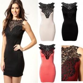 5 Colors   Vestidos Femininos Elegant Mini Bodycon Party Dress Women Work Wear Summer Embroidery Casual Dress 9011