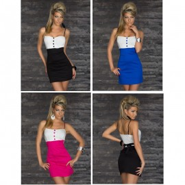 M XXL Plus Size   Fashion Women Sexy Spaghetti Strap Bodycon Clubwear Party Mini Dress N103