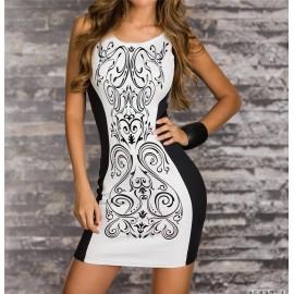 S-XXL Plus Size   Vestidos De Festa Women Summer Casual Dresses Sexy Bodycon Bandage Dress Mini Club Party Dress 9023