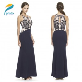 Slim Elegant Celebrity Women Summer Dress   Style Maxi Panel Casual Lace Dress Vestidos Femininos Party Dresses HW0261