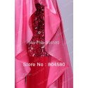Ladies Sweetheart Strapless Short Front Long Back Prom Dress fashion Mermaid Party Gown Formal Evening Dresses CL6012