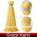 Grace Karin Strapless Chiffon Celebrity Dress Floor-Length Long Prom Gown Evening Dresses CL6002