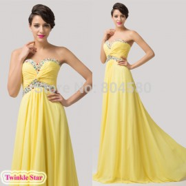 Sexy Floor Length A-Line Stock Off the Shoulder Chiffon Evening Gown Formal Prom Dresses Women Party Dress Long CL6118