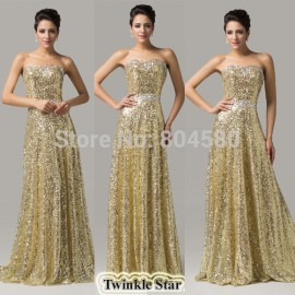Christmas Gift  Floor length Fashion Women sequins Bandage Evening Dress Sexy Celebrity dresses Long Party Gown CL6103