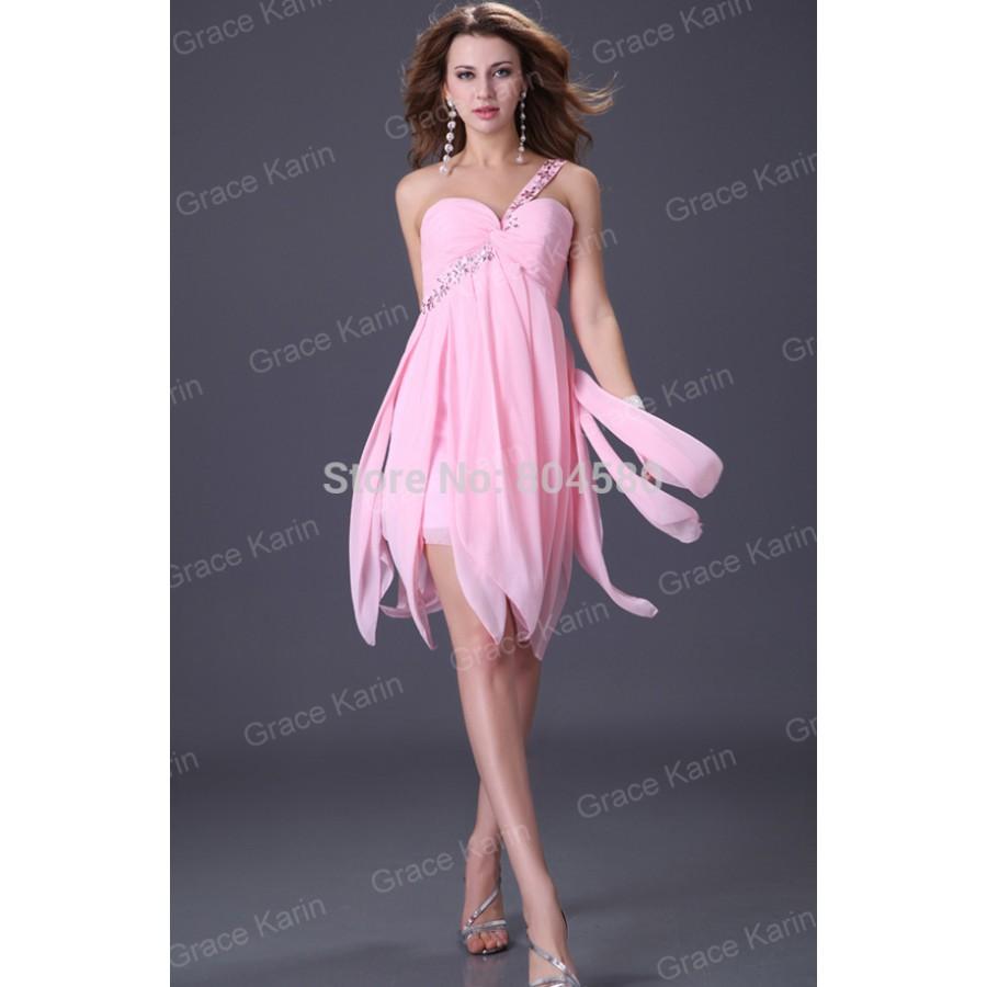 Miedoso One Shoulder White Cocktail Dress Ideas Ornamento ...