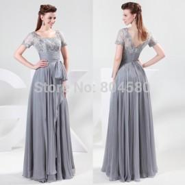 s/lot Fashion Grace Karin Chiffon & Lace Ball Party Dress Formal Evening Dress 8 Size US 2~16 CL4445