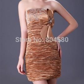 Grace Karin Women casual dress Knee length Beautiful Bandage dresses short Evening Gown CL3136