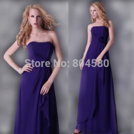 Grace Karin Fashion Women  Year special occasion Long Celebrity dress Party Evening Elegant Prom dresses  Purple CL3434