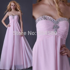 Grace Karin Floor Length strapless dress Chiffon Celebrity dresses Formal Evening dress Formal party prom Gown  CL3523