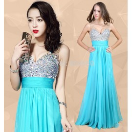 Grace Karin Sexy Design Floor Length V neck Women Holiday Ball dress Long Prom Gown Formal Party Evening dresses  CL7506