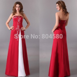 Hot  Grace Karin Elegant Design Floor Length Sexy Formal Prom Gown Long evening dress Formal Homecoming party dresses  CL3132