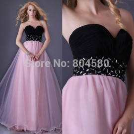 Hot Sale Stock Floor Length red carpet dress sweetheart prom dresses Formal Evening Long Graduation party Ball Gown  CL3465