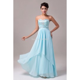 Hot Selling Sexy Women's Sweetheart Floor Length Evening Party Dresses Formal Bandage Prom Dress In Stock  CL4504