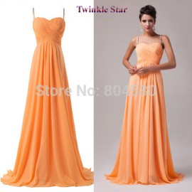 Design Stock Chiffon Women Backless Evening party dress Formal prom Dress Long CL6025