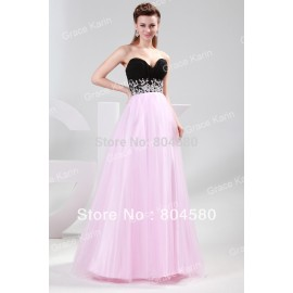 Off-Shoulder Floor length Sweetheart Chiffon Graduation Prom Dresses Homecoming Evening Dress party  CL4415
