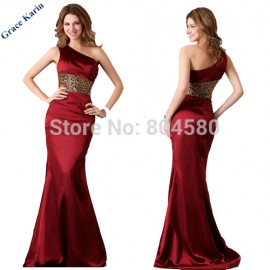 Stock Floor Length Royal Blue/ Red Celebrity Bandage dress Maxi Long Evening dresses Formal Prom party Gown CL2020 (AL12)