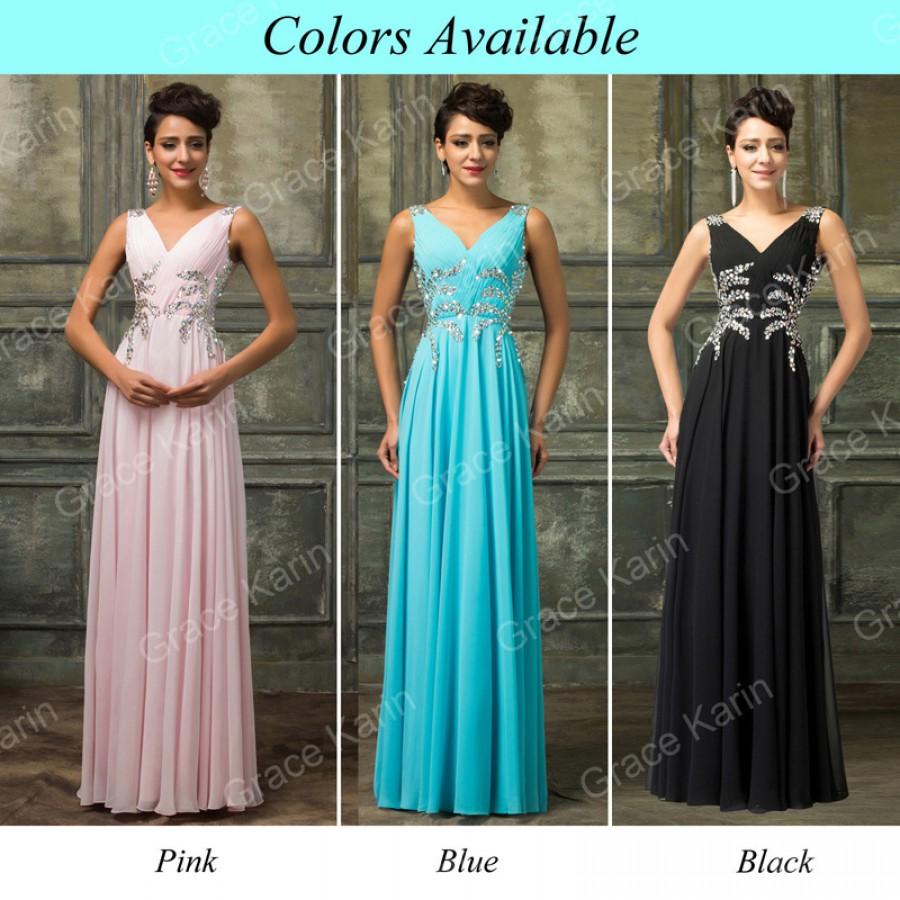 Design Sleeveless Floor-length Chiffon Long Prom Dresses 2015 ...