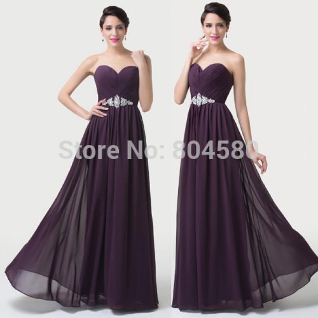 Precious Floor Length A Line Chiffon Women Casual Dress Formal