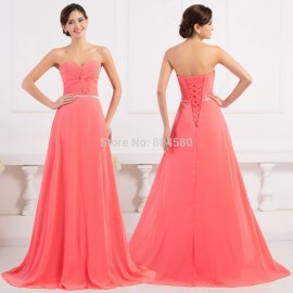 Real Image   Stock A Line Chiffon Formal Evening Prom dresses Long Celebrity Pageant Party Gowns Dance Ball dress CL6298