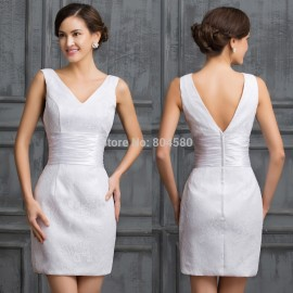 Real Imagine Grace Karin Knee Length Empire Special Occasion dress Tank Short Cocktail dresses Sleeveless Party Gown CL7523
