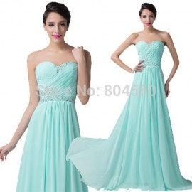 Runway Design Fashion Women Sexy Strapless Evening dress to Party Sleeveless Green Long Prom dresses Formal Occasion Gown CL6230