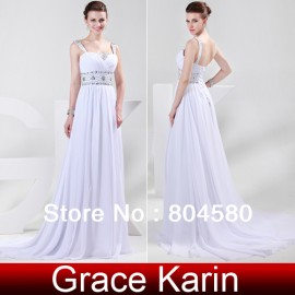 Wholasale/Retail Fashion Chiffon Crystals Beaded Evening Dresses,Sexy Party Prom Long Formal Dress    CL4469