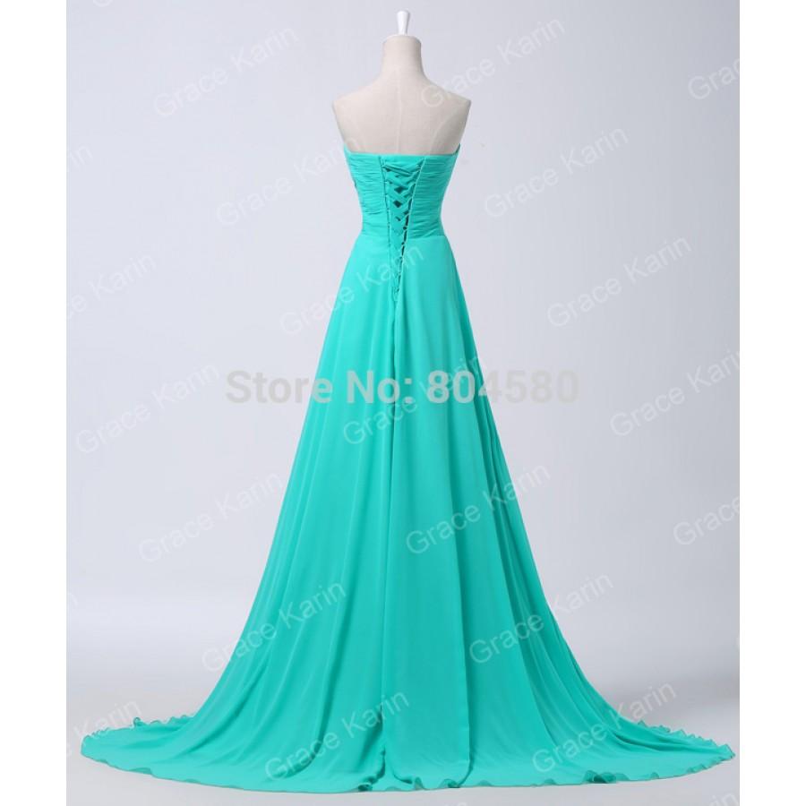 Grace Karin Floor Length Fashion Women Wedding party Gown Long ...