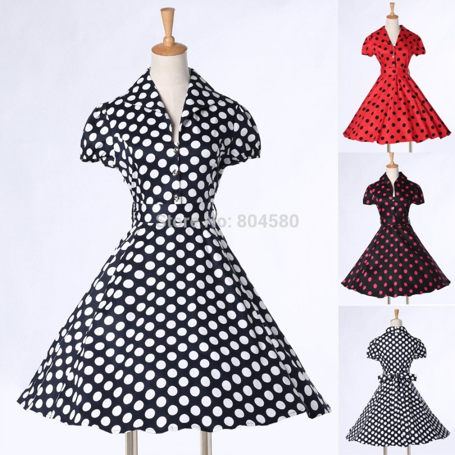 Images of 1950s dresses for women