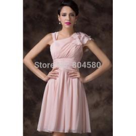 Ruffles A Line Lace Up Back Tutu Party dresses Ball Prom Gown Short Women Cocktail dress Winter Frozen Wholesale CL6221