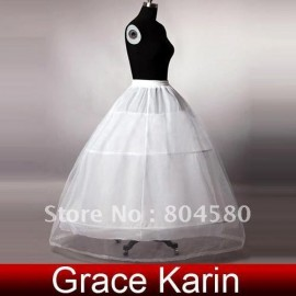 Wedding Bridal Gown Dress Petticoat Underskirt CL2530