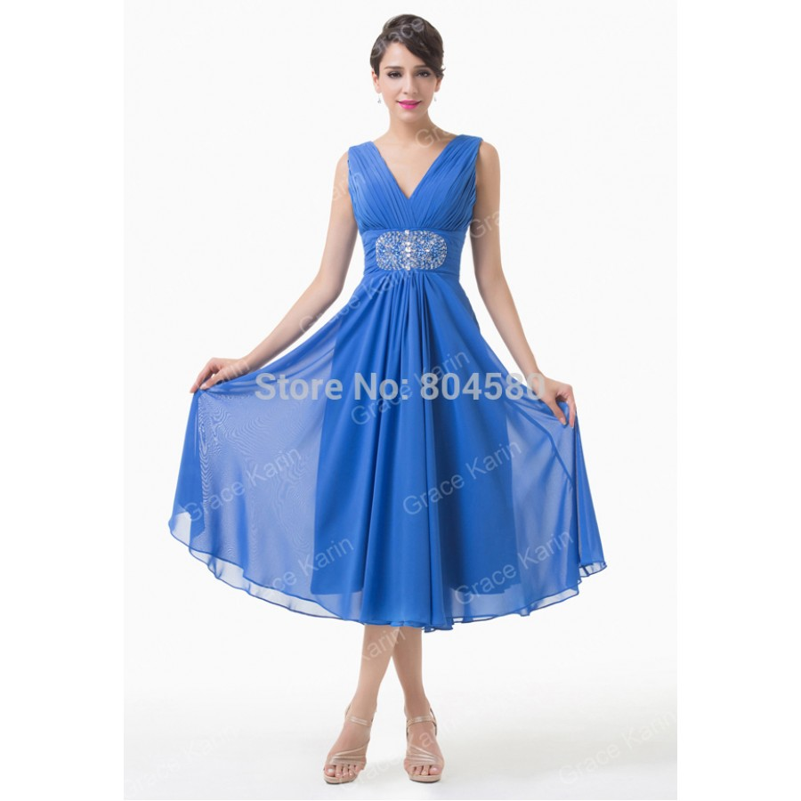 Cocktail dress v neck 900