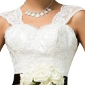 2016 New Special Occasion White Lace Cheap Bridesmaid Dresses Under 50 Long Bridesmaids Dress for Wedding Party Ball Gown 7566