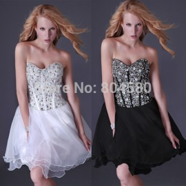 Best Quality  Summer Women's Short Strapless Elegant Casual party dress Sexy Bandage Evening dresses  CL3520