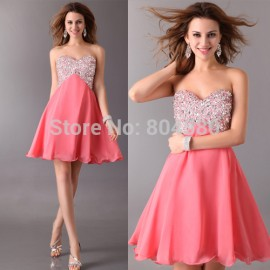 s/lot 3 Colors Sequins sexy Prom gown Formal Dresses Short Women Party Evening gowns  CL3140