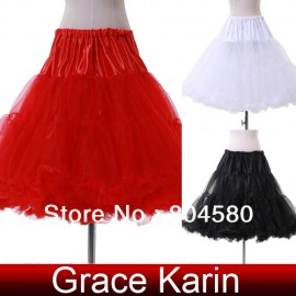 Hot Selling women Wedding Dress Gown Crinoline Petticoat Underskirt CL5045