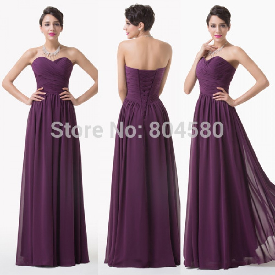 Design Special Occasion Formal Party Gowns Floor Length Chiffon Long ...