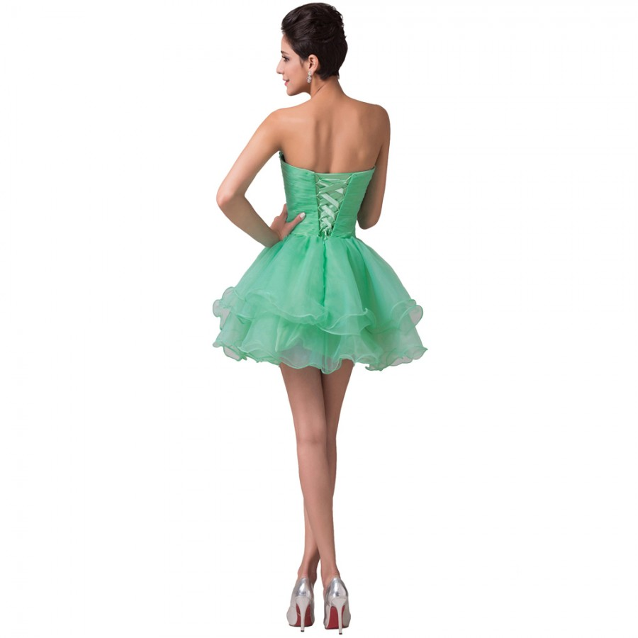 cf6dd38a23 Vestido Madrinha Cheap Mini Length Wedding Party Dresses Mint Green Black  Purple Bridesmaid Dress Formal Prom ...