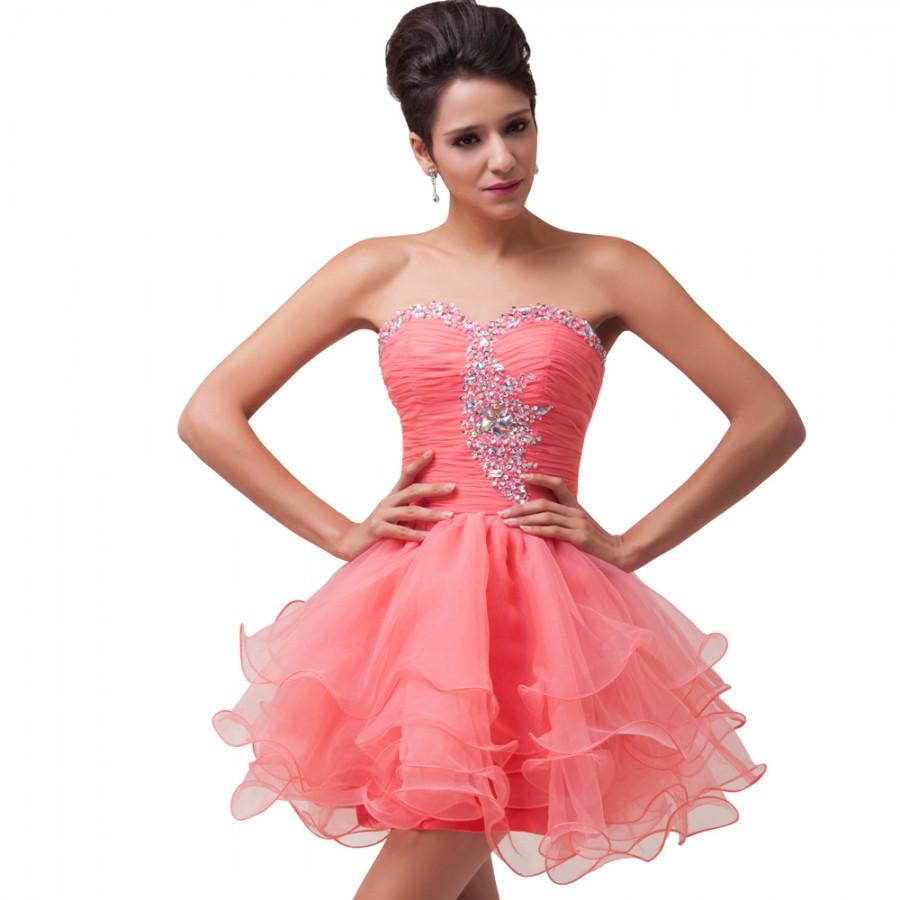 Vestido Madrinha Cheap Mini Length Wedding Party Dresses Mint Green ...